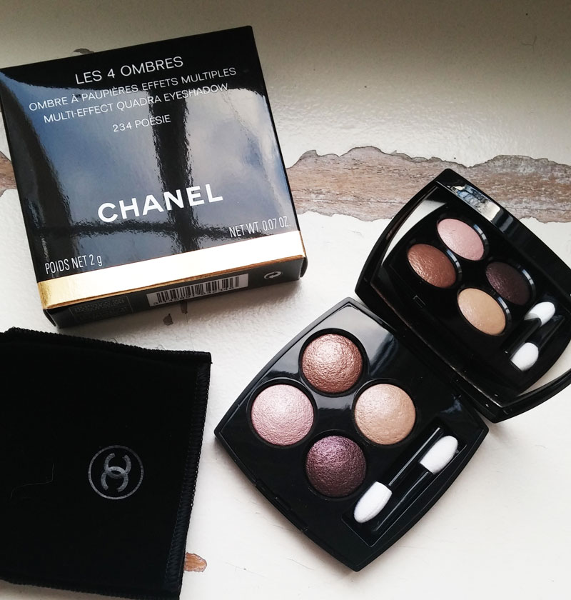 un make up d hiver avec chanel. Black Bedroom Furniture Sets. Home Design Ideas